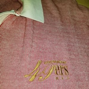 NFL Active Shirts - Vintage Logo San Francisco 49ers Niners Polo Shirt